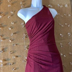 Beautiful long dress burgundy
